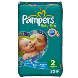 Couches Pampers Taille 2 Sur Choupinet