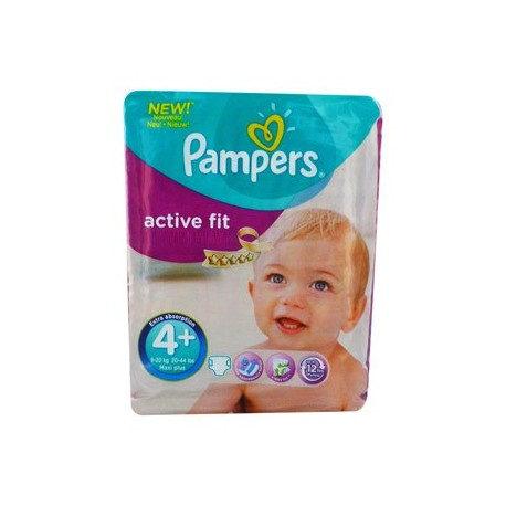 21 Couches Pampers Active Fit Taille 4 Pas Cher Sur Choupinet