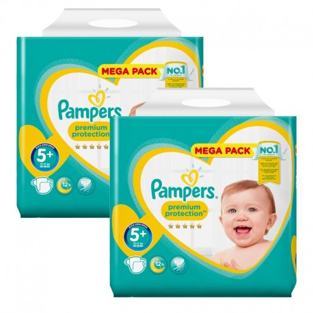 256 Couches Pampers Premium Protection Taille 5 Pas Cher Sur Choupinet